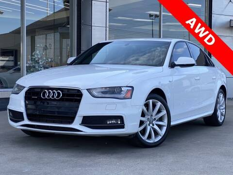 2014 Audi A4 for sale at Carmel Motors in Indianapolis IN