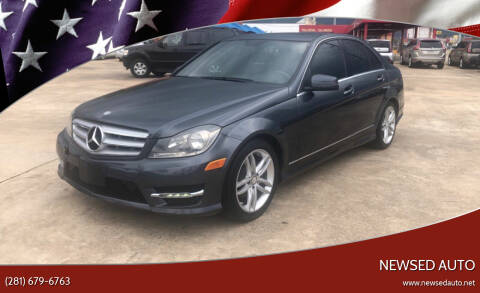 2013 Mercedes-Benz C-Class for sale at Newsed Auto in Houston TX