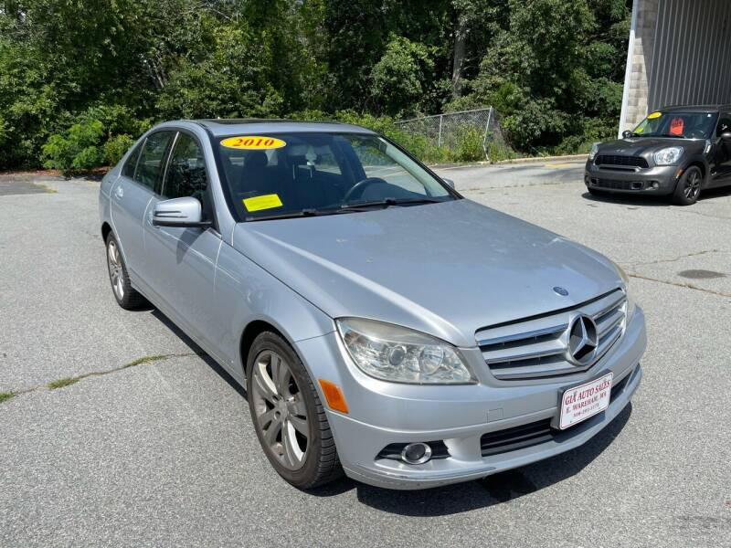 2010 Mercedes-Benz C-Class for sale at Gia Auto Sales in East Wareham MA