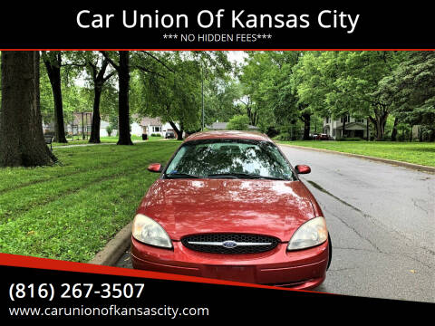 2001 Ford Taurus for sale at Car Union Of Kansas City in Kansas City MO