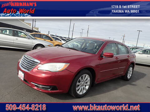 2012 Chrysler 200 for sale at Bruce Kirkham Auto World in Yakima WA