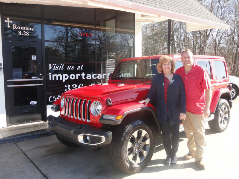 2018 Jeep Wrangler Unlimited for sale at importacar in Madison NC