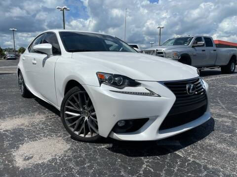 2016 Lexus IS 200t for sale at Used Auto Outlet in Orlando FL