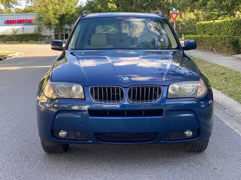 2006 BMW X3 for sale at Presidents Cars LLC in Orlando FL