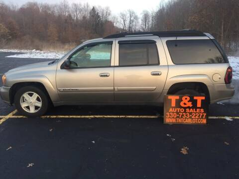 2003 Chevrolet TrailBlazer for sale at T & T Auto Sales in Akron OH