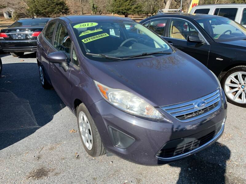 2012 Ford Fiesta for sale at Harrisburg Auto Center Inc. in Harrisburg PA