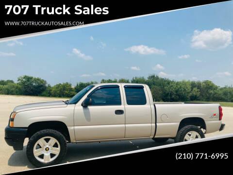2007 Chevrolet Silverado 1500 Classic for sale at 707 Truck Sales in San Antonio TX