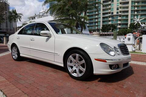 2008 Mercedes-Benz E-Class for sale at Choice Auto in Fort Lauderdale FL
