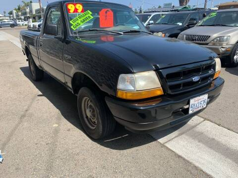1999 Ford Ranger for sale at North County Auto in Oceanside CA