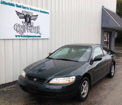 2000 Honda Accord for sale at Team Knipmeyer in Beardstown IL