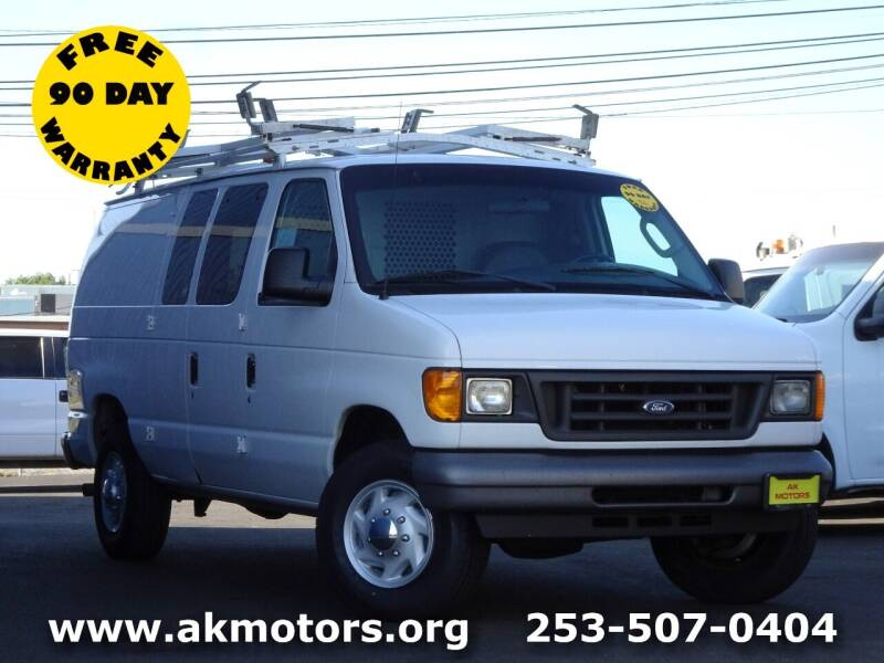 2006 Ford E-Series Cargo for sale at AK Motors in Tacoma WA