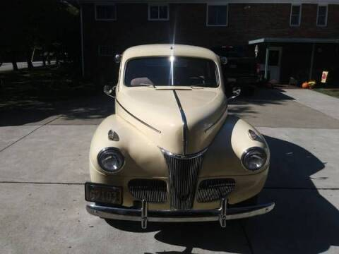 1941 Ford Deluxe for sale at Classic Car Deals in Cadillac MI