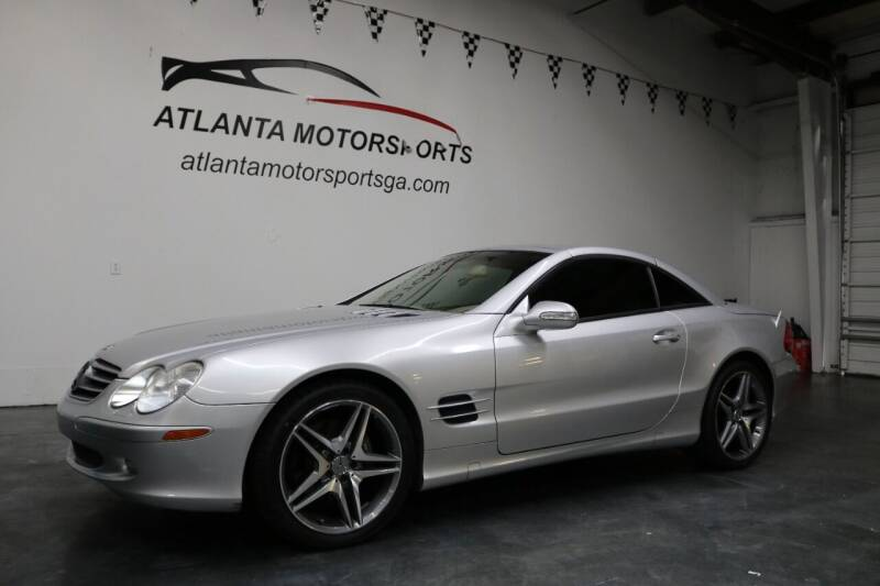 2003 Mercedes-Benz SL-Class for sale at Atlanta Motorsports in Roswell GA