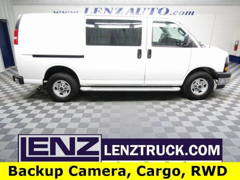 2019 GMC Savana Cargo for sale at LENZ TRUCK CENTER in Fond Du Lac WI