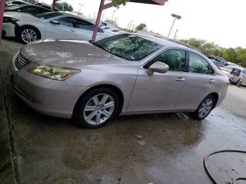 2007 Lexus ES 350 for sale at El Jasho Motors in Grand Prairie TX