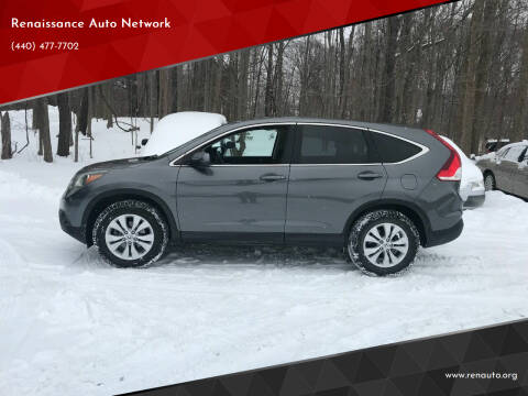 2014 Honda CR-V for sale at Renaissance Auto Network in Warrensville Heights OH