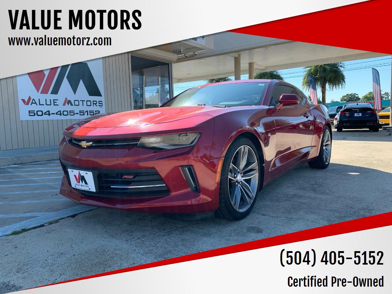Chevrolet Camaro 2016 for Sale in Kenner, LA