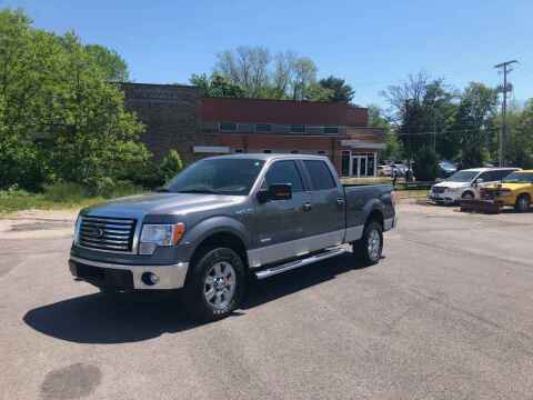 2012 Ford F-150 for sale at DILLON LAKE MOTORS LLC in Zanesville OH