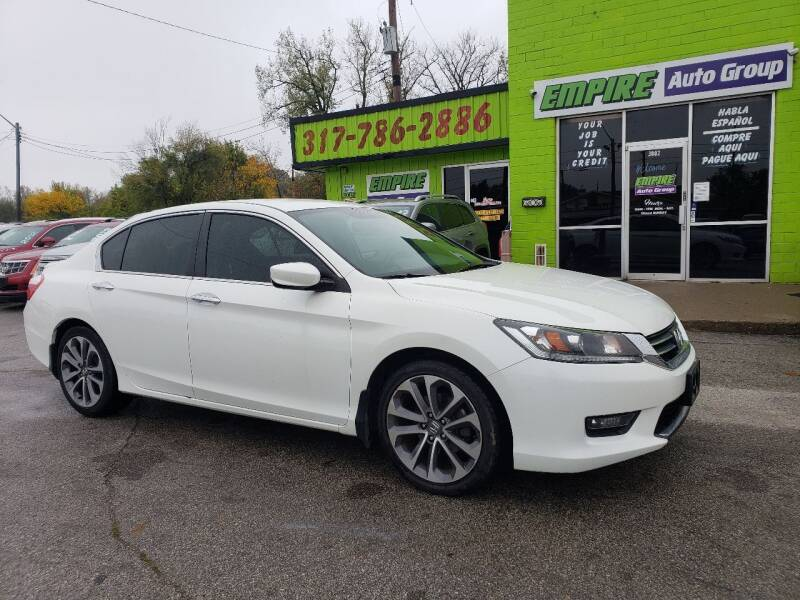 2014 Honda Accord for sale at Empire Auto Group in Indianapolis IN