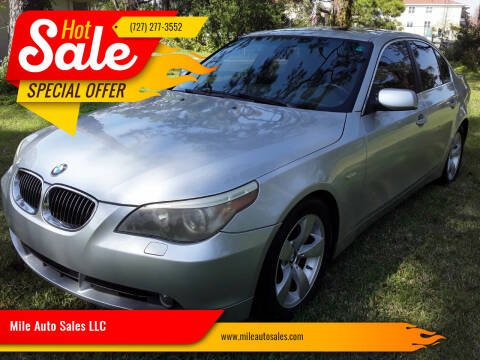 2007 BMW 5 Series for sale at Mile Auto Sales LLC in Holiday FL