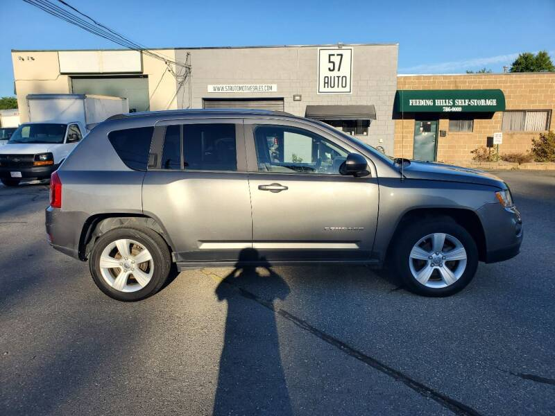 2012 Jeep Compass for sale at 57 AUTO in Feeding Hills MA