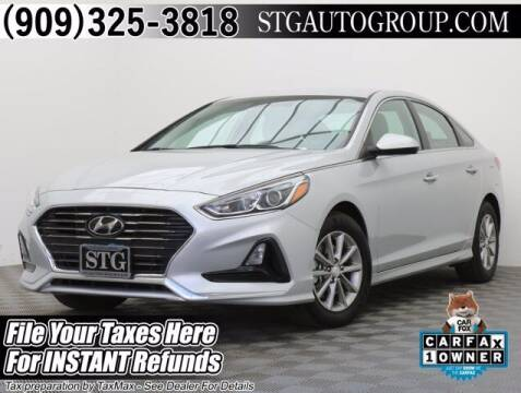 2019 Hyundai Sonata for sale at STG Auto Group in Montclair CA