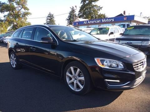 2016 Volvo V60 for sale at All American Motors in Tacoma WA