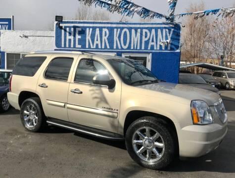 2008 GMC Yukon for sale at The Kar Kompany Inc. in Denver CO