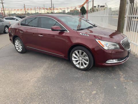 2014 Buick LaCrosse for sale at Robert B Gibson Auto Sales INC in Albuquerque NM