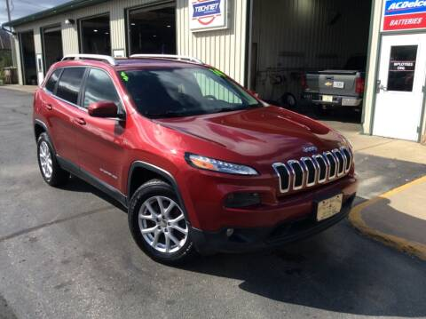 2014 Jeep Cherokee for sale at TRI-STATE AUTO OUTLET CORP in Hokah MN