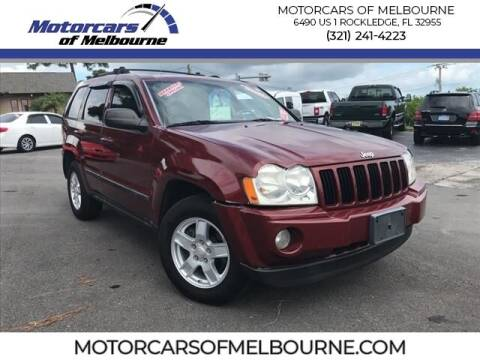 2007 Jeep Grand Cherokee for sale at Motorcars of Melbourne in Rockledge FL