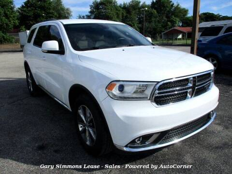 2016 Dodge Durango for sale at Gary Simmons Lease - Sales in Mckenzie TN
