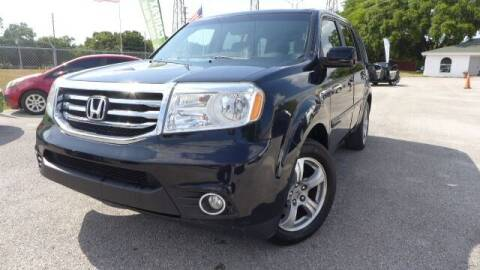 2013 Honda Pilot for sale at Das Autohaus Quality Used Cars in Clearwater FL