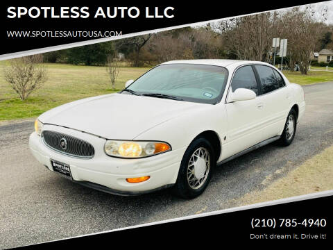 2003 Buick LeSabre for sale at SPOTLESS AUTO LLC in San Antonio TX