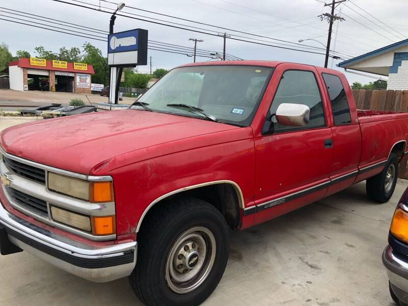 1994 Chevrolet C/K 2500 Series for sale at Texas Auto Broker in Killeen TX