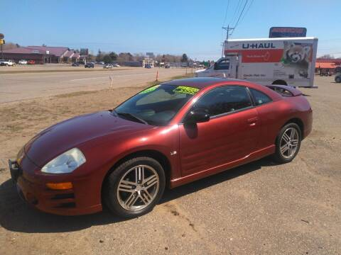 2003 Mitsubishi Eclipse for sale at Pepp Motors in Marquette MI