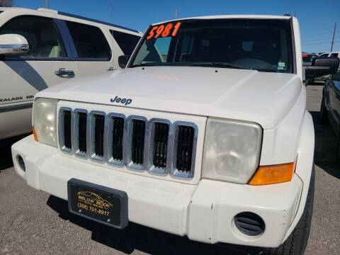 2006 Jeep Commander for sale at BELOW BOOK AUTO SALES in Idaho Falls ID