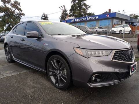 2018 Acura TLX for sale at All American Motors in Tacoma WA