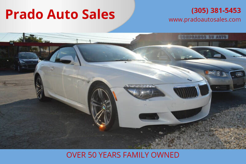 2009 BMW M6 for sale at Prado Auto Sales in Miami FL