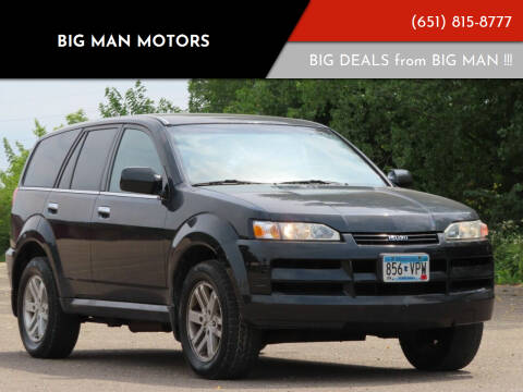 2003 Isuzu Axiom for sale at Big Man Motors in Farmington MN