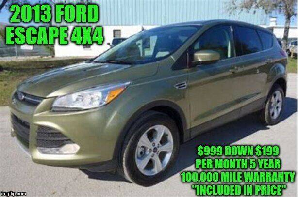 2013 Ford Escape for sale at D&D Auto Sales, LLC in Rowley MA