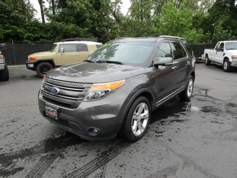 2015 Ford Explorer for sale at LULAY'S CAR CONNECTION in Salem OR