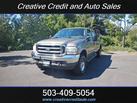 2003 Ford F-350 Super Duty for sale at Creative Credit & Auto Sales in Salem OR