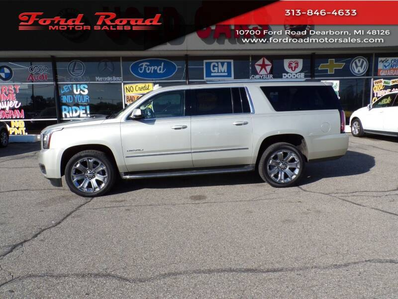 2016 GMC Yukon XL for sale at Ford Road Motor Sales in Dearborn MI