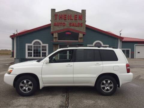 2004 Toyota Highlander for sale at THEILEN AUTO SALES in Clear Lake IA