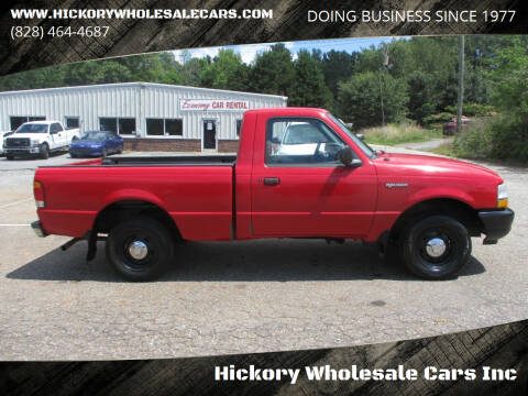 1998 Ford Ranger for sale at Hickory Wholesale Cars Inc in Newton NC