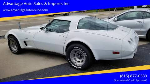 1979 Chevrolet Corvette for sale at Advantage Auto Sales & Imports Inc in Loves Park IL