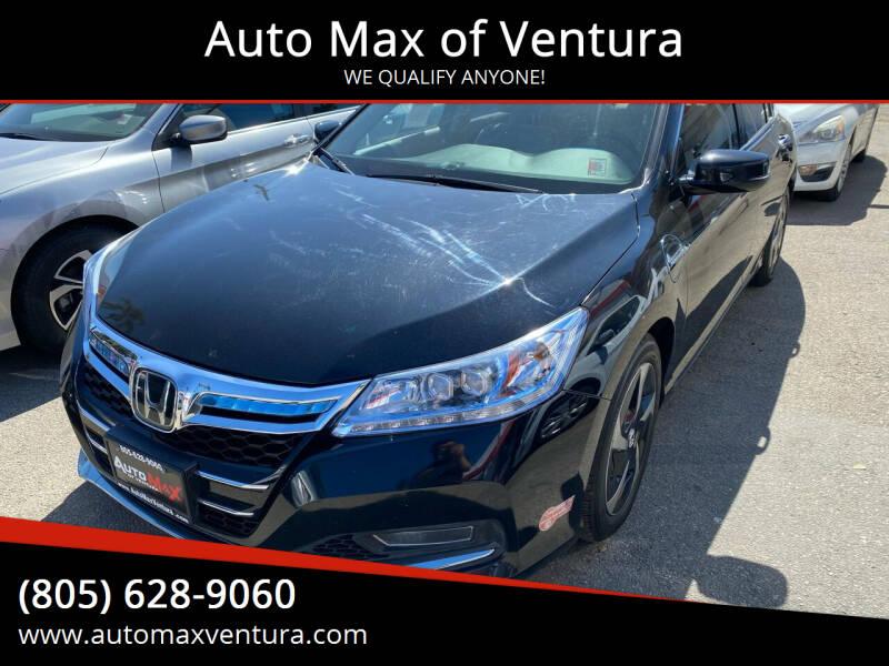 2014 Honda Accord Plug-In for sale at Auto Max of Ventura in Ventura CA