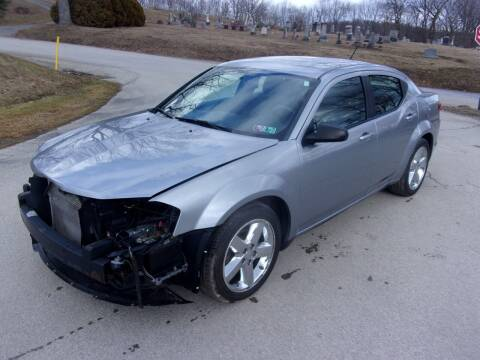 2013 Dodge Avenger for sale at Pyles Auto Sales in Kittanning PA