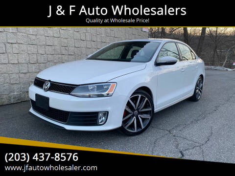 2012 Volkswagen Jetta for sale at J & F Auto Wholesalers in Waterbury CT